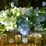 Gorgeous, rustic wedding florals