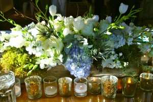 rustic wedding floral centerpieces