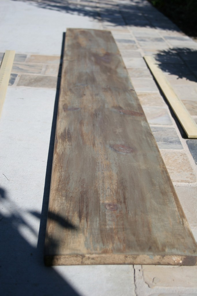 Restoration Hardware inspired height & wood growth chart (7)