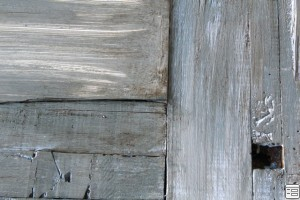 tutorial :: vintage door restoration with chalk board panel