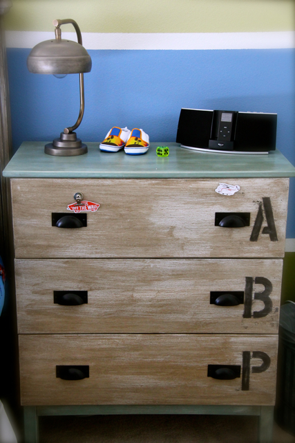 Ikea hack Tarva dresser with magnetics drawer fronts