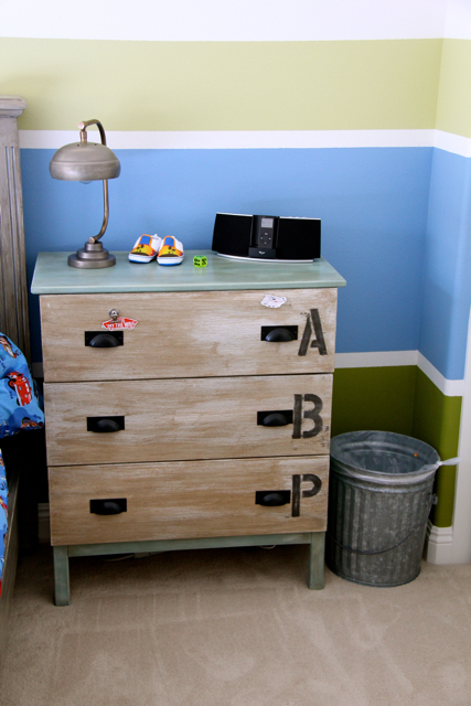Ikea hack Tarva dresser with magnetics drawer fronts, painted with Annie Sloan Chalk Paint