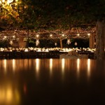 romantic Napa evening wedding