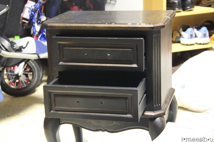 black French nightstand