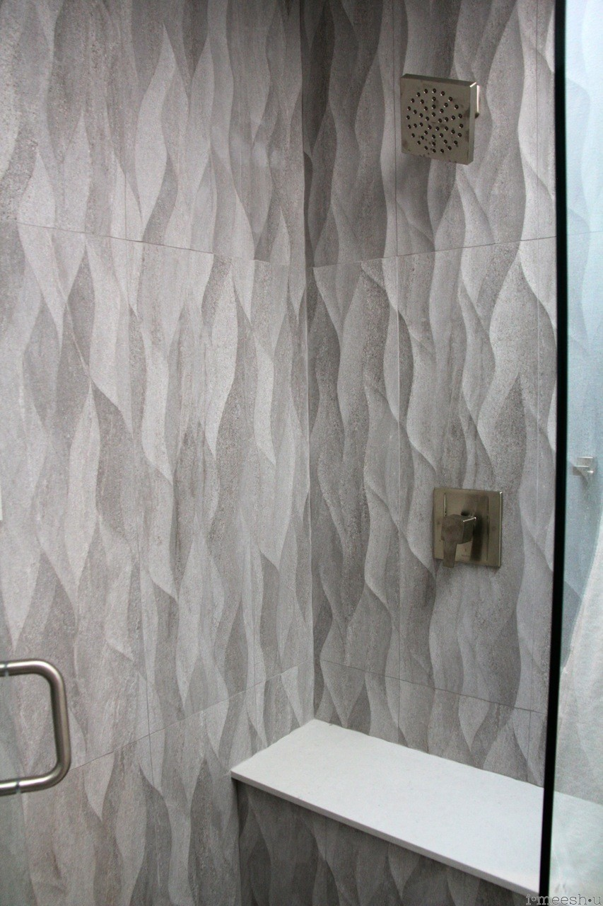 Wavy Bathroom Tile Tile Designs