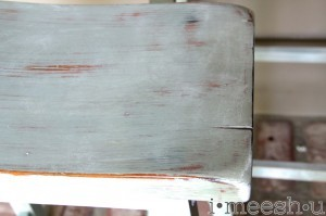 Norm! how to paint Cheers-y bar stools