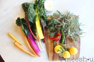 solstice stew :: veggies galore for crisp fall days