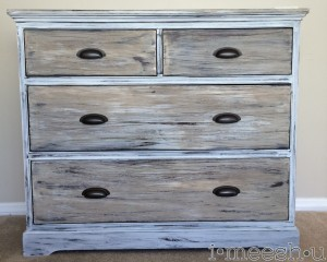How to paint wood to look like weathered Restoration Hardware wood