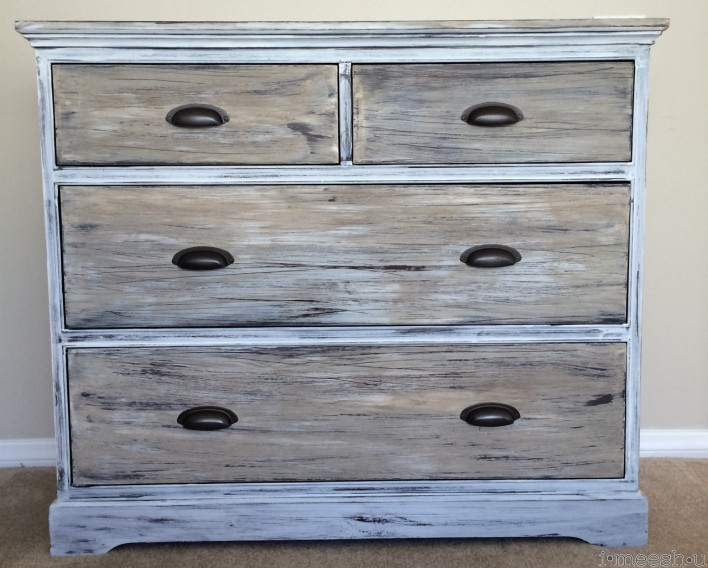 getting a restoration hardware look with chalk paint