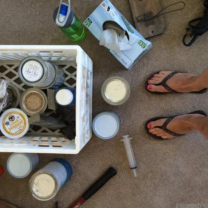 meesh pierce annie sloan chalk paint happy place