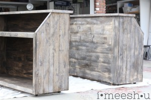 weathered wood bars