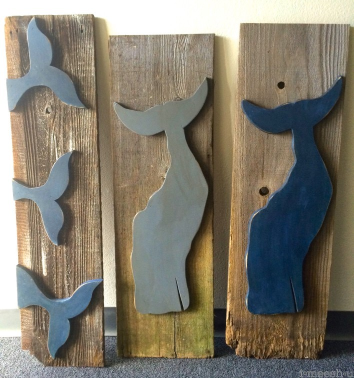 reclaimed-wood-whales-tails-wall-decor