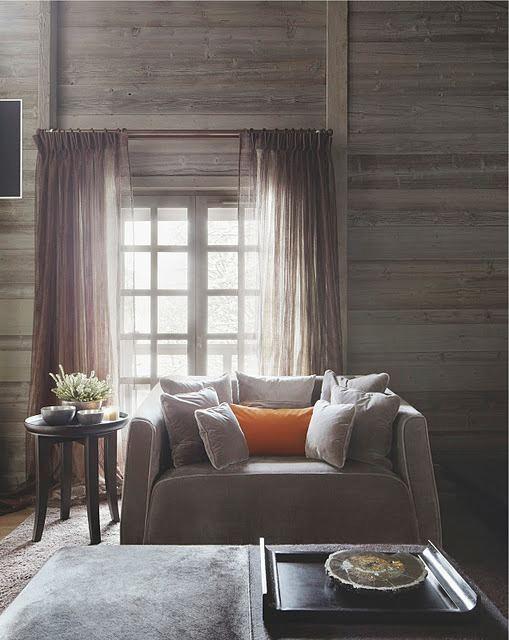 Weathered Wood Paneled Wall....s W O O N