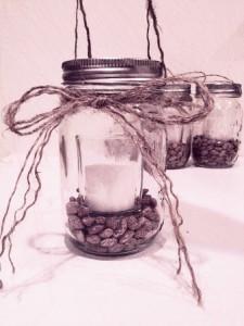mason jar candle lantern prep