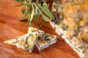 egg white & veggie frittata
