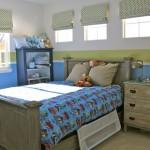 Restoration Hardware-inspired big boy room