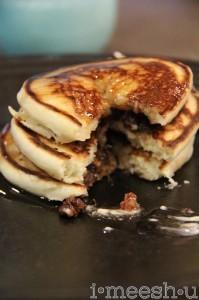 chocolate chip pancake goodness