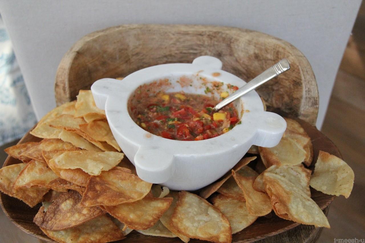 fresh garden salsa — imeeshu.com