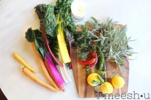 solstice stew :: veggies galore for crisp fall days
