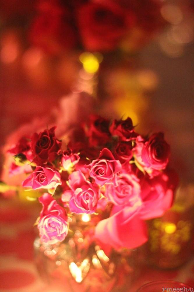 candlelit-roses-mercury-glass